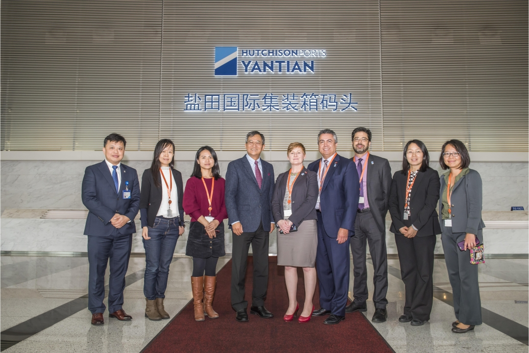 SCAQMD Executive Officer Visits YANTIAN
