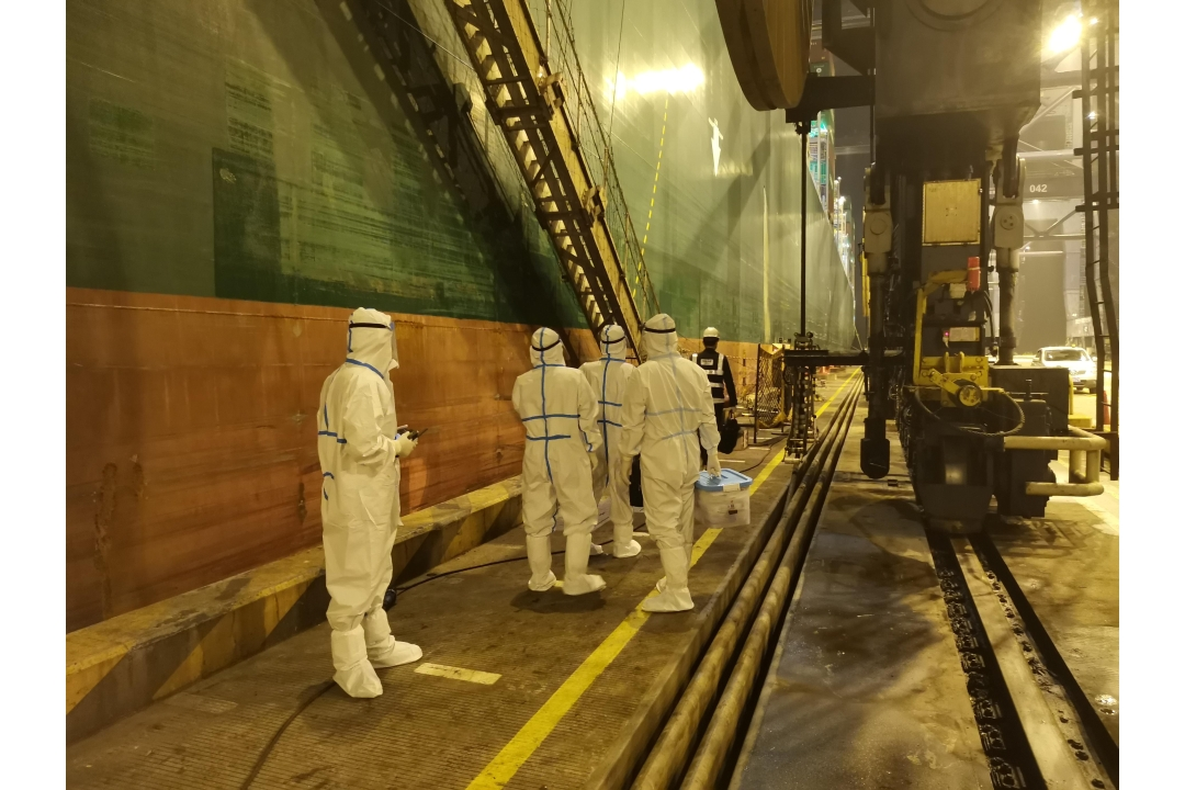 Scientific Inspection for Vessels to Ensure Smooth Port Operation
